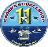 Carrier Strike Group 11 insignia (US Navy) 2016