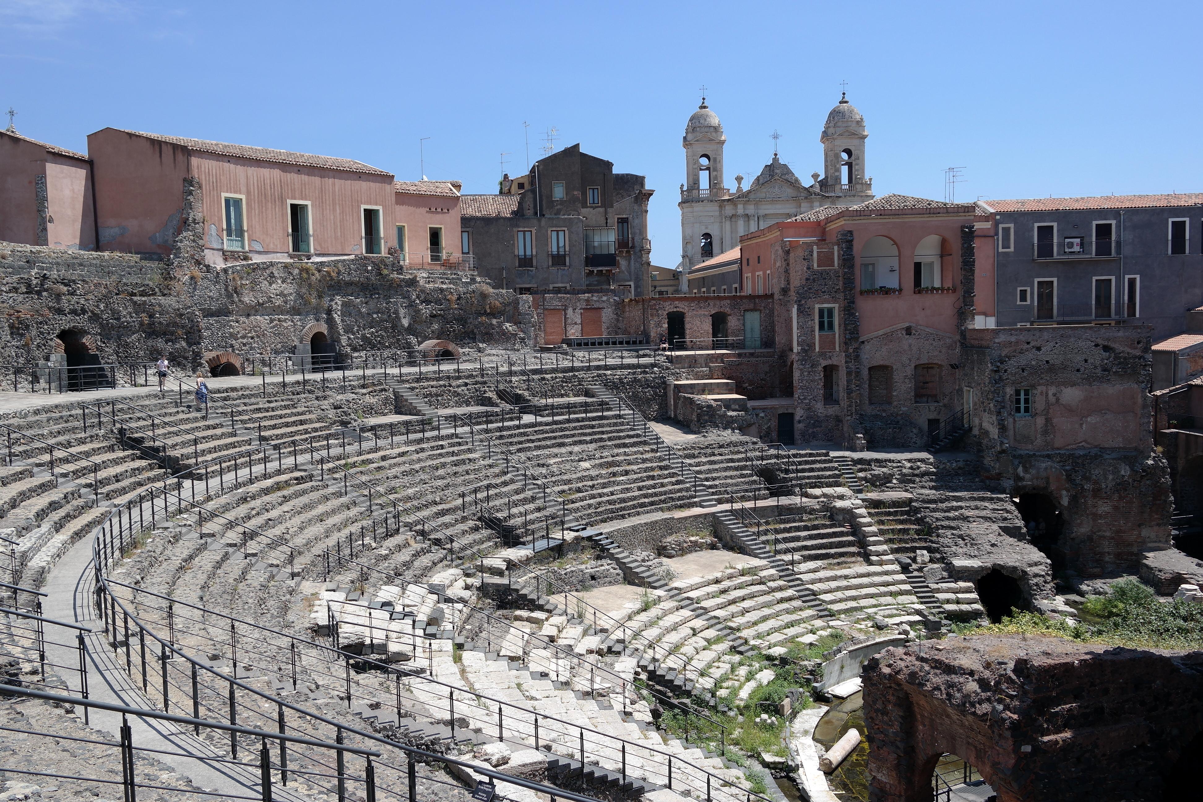 Teatro romano di Catania - Wikiwand