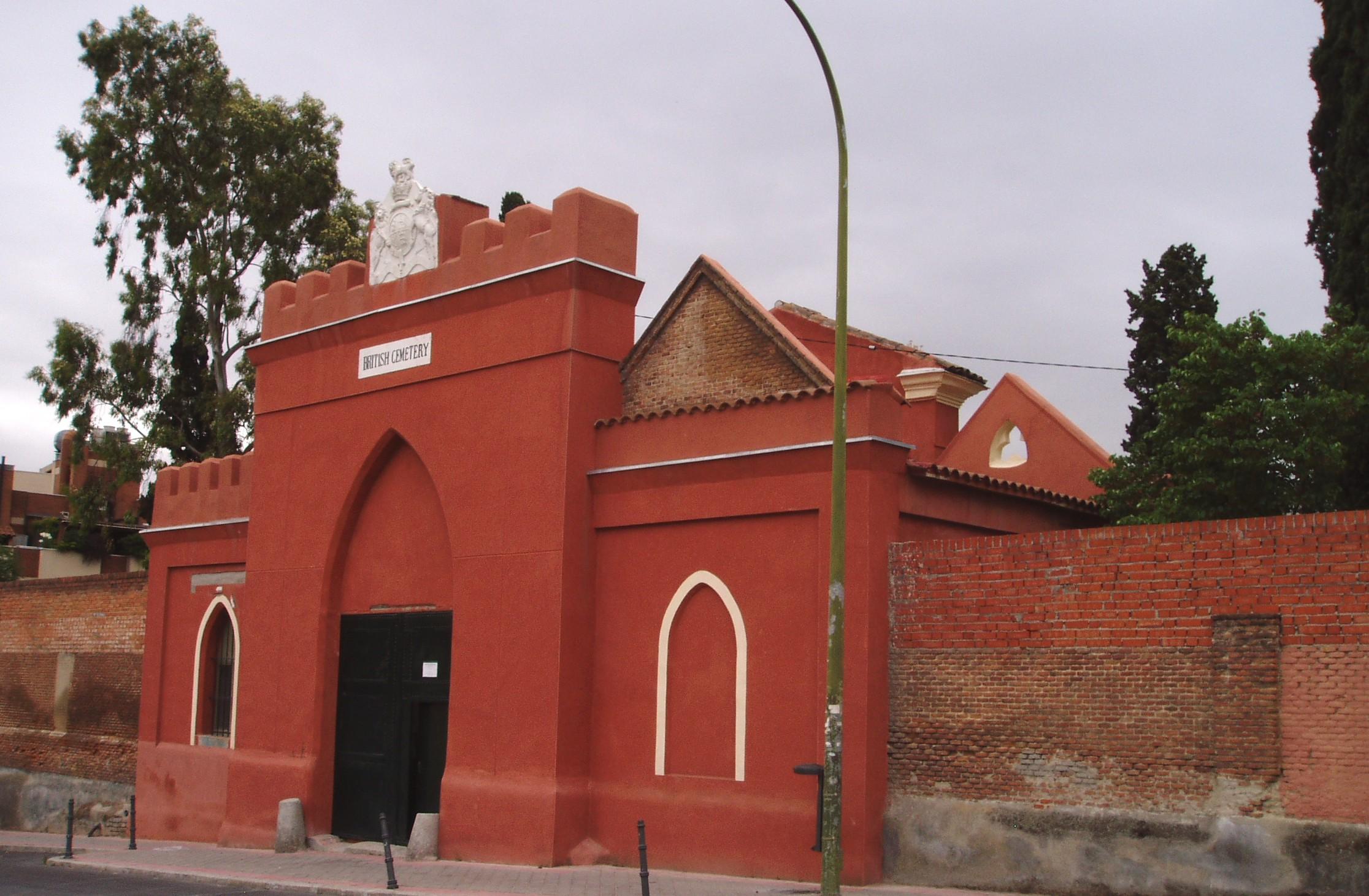 Resultado de imagen de cementerio britanico madrid