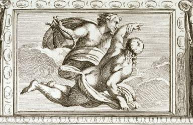 Apollo and Hyacinthus, by Carlo Cesio Cesio, Carlo 1626 - 1686) - Apollo e Giacinto, inc. da Annibale Carracci, -1675-.jpg