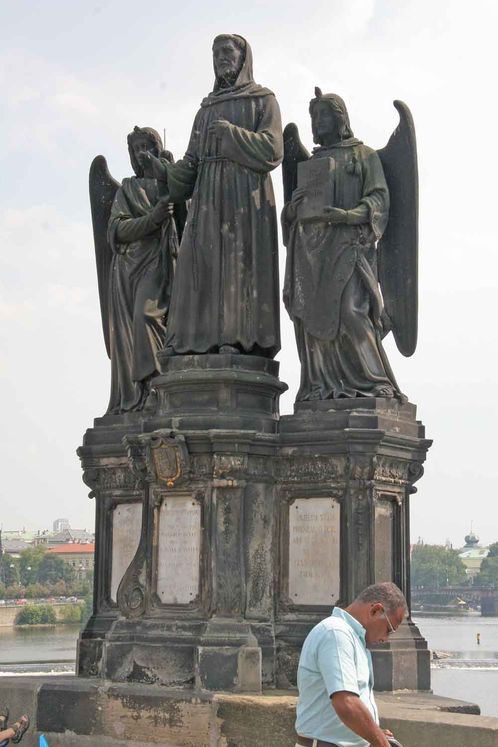 Saint Nicholas Pictures >> Statue of Francis of Assisi, Charles Bridge - Wikipedia