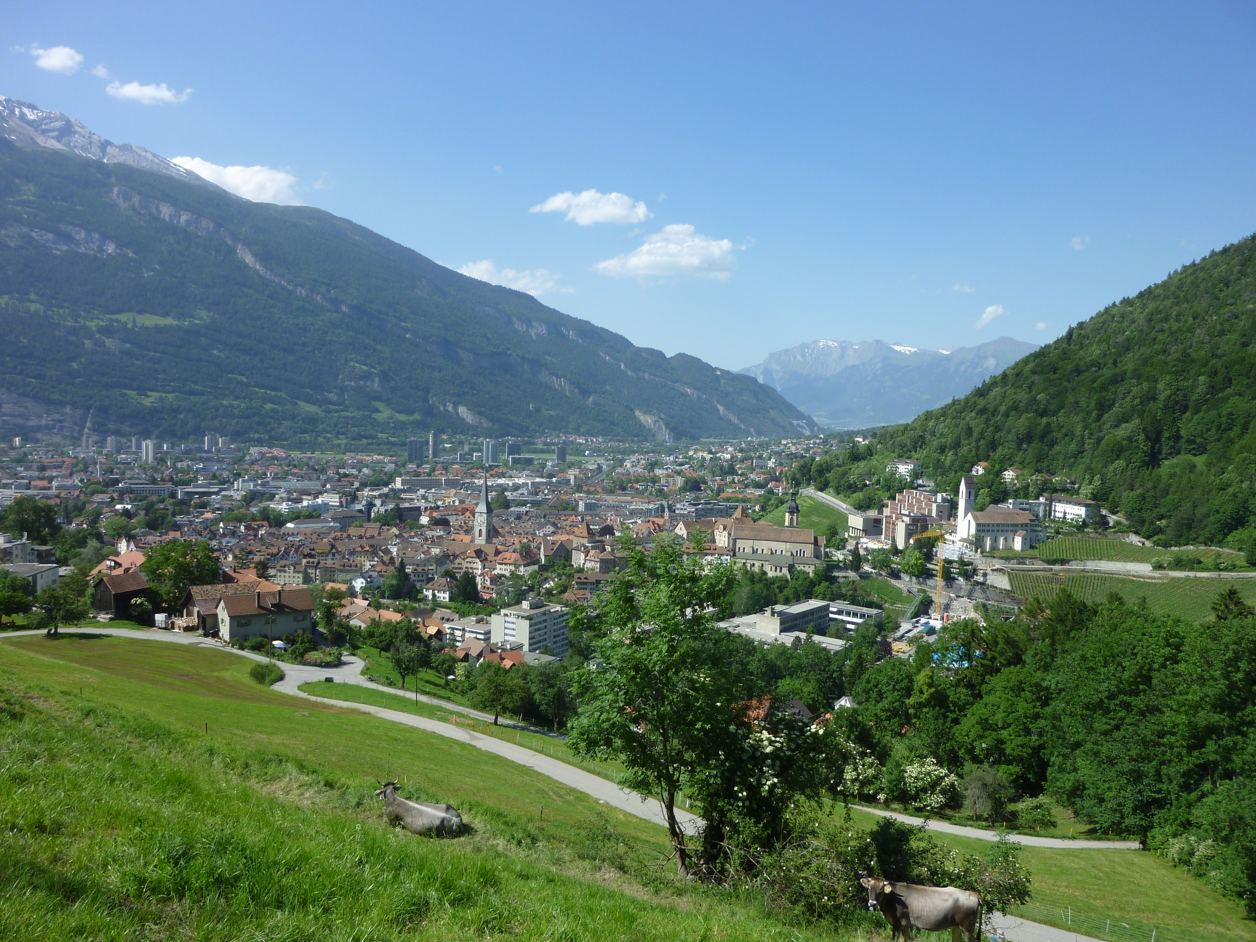 Chur Switzerland  city images : Description Chur Juni 2010