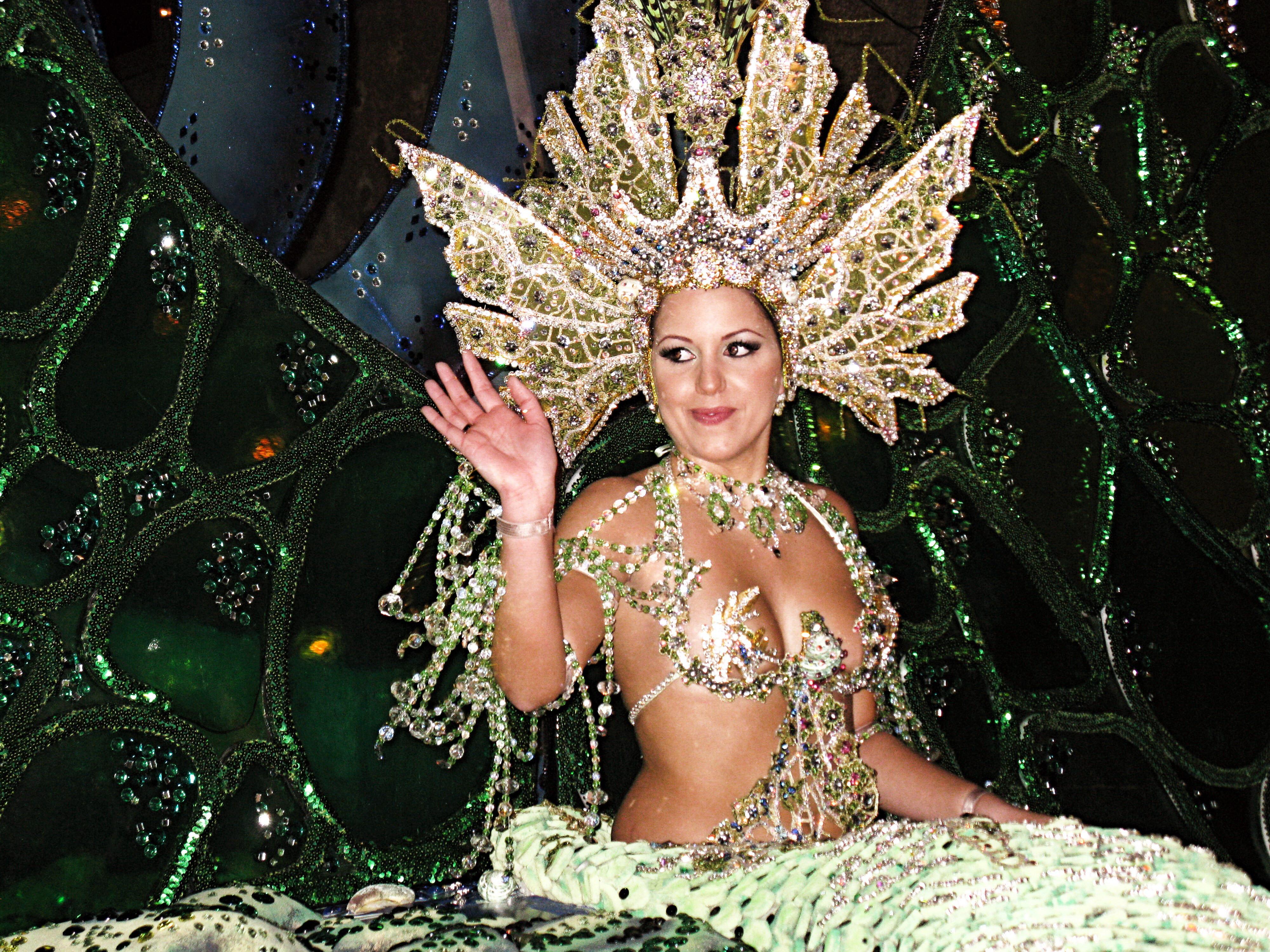 Carnival Queen of Santa Cruz