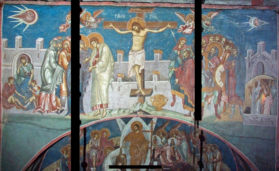 Crucifixion of Christ - Visoki Dečani Monastery