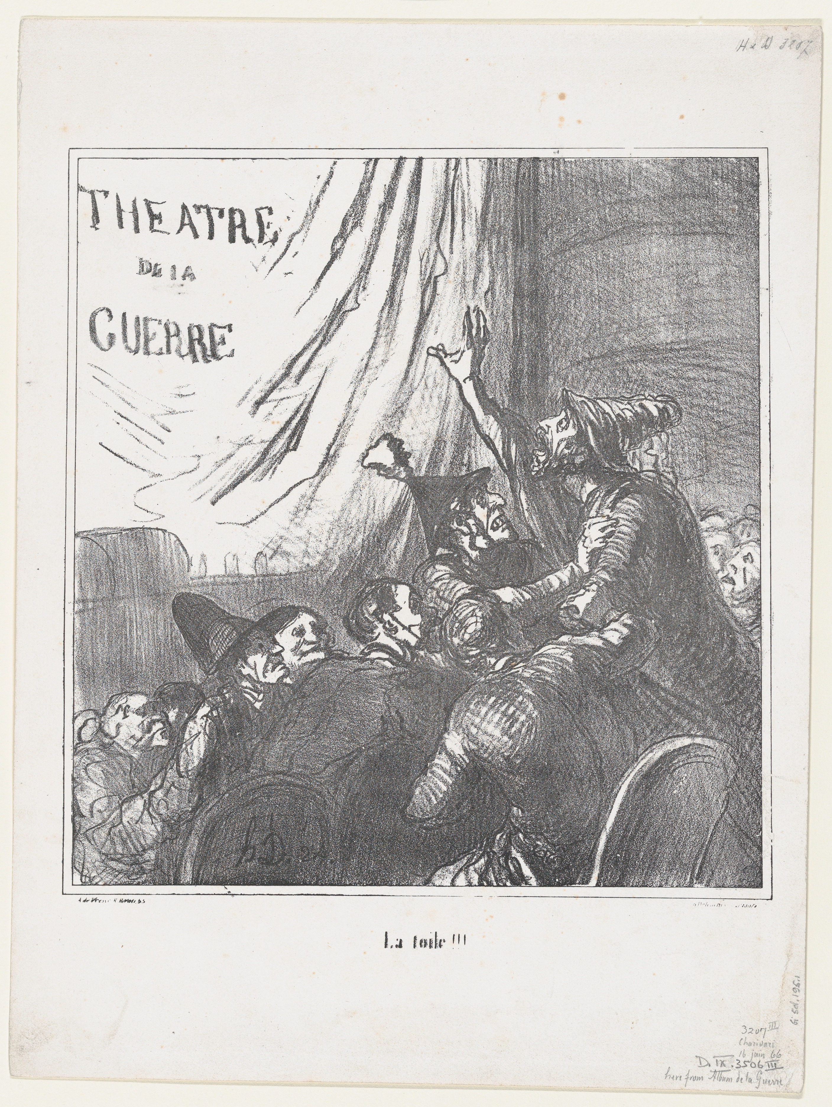 Curtain!!!, from %27News of the day,%27 published in %27The war album%27 MET DP877506.jpg