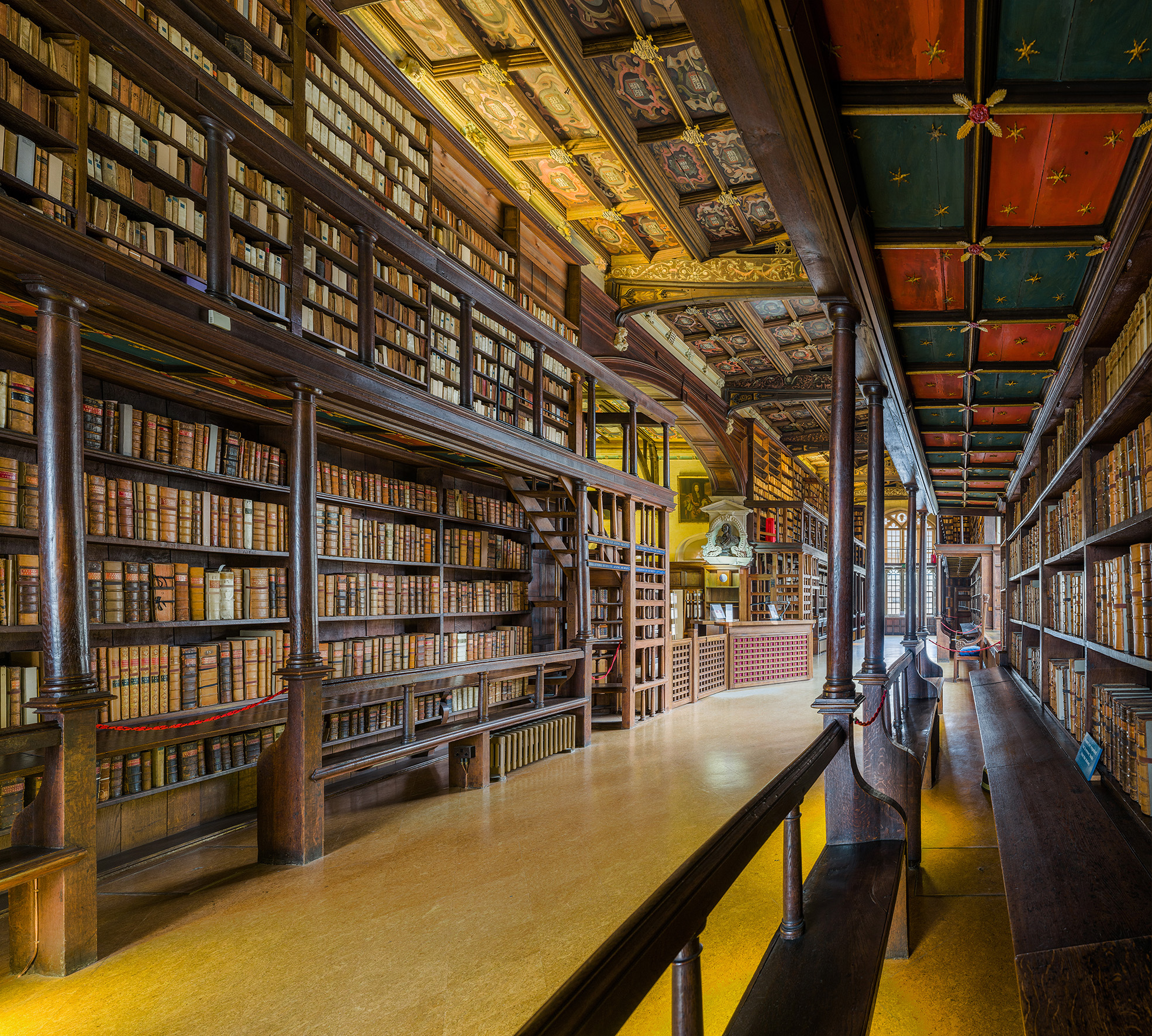 Duke Humfrey's Library Interior 3, Bodleian Library, Oxford, UK - Diliff.jpg