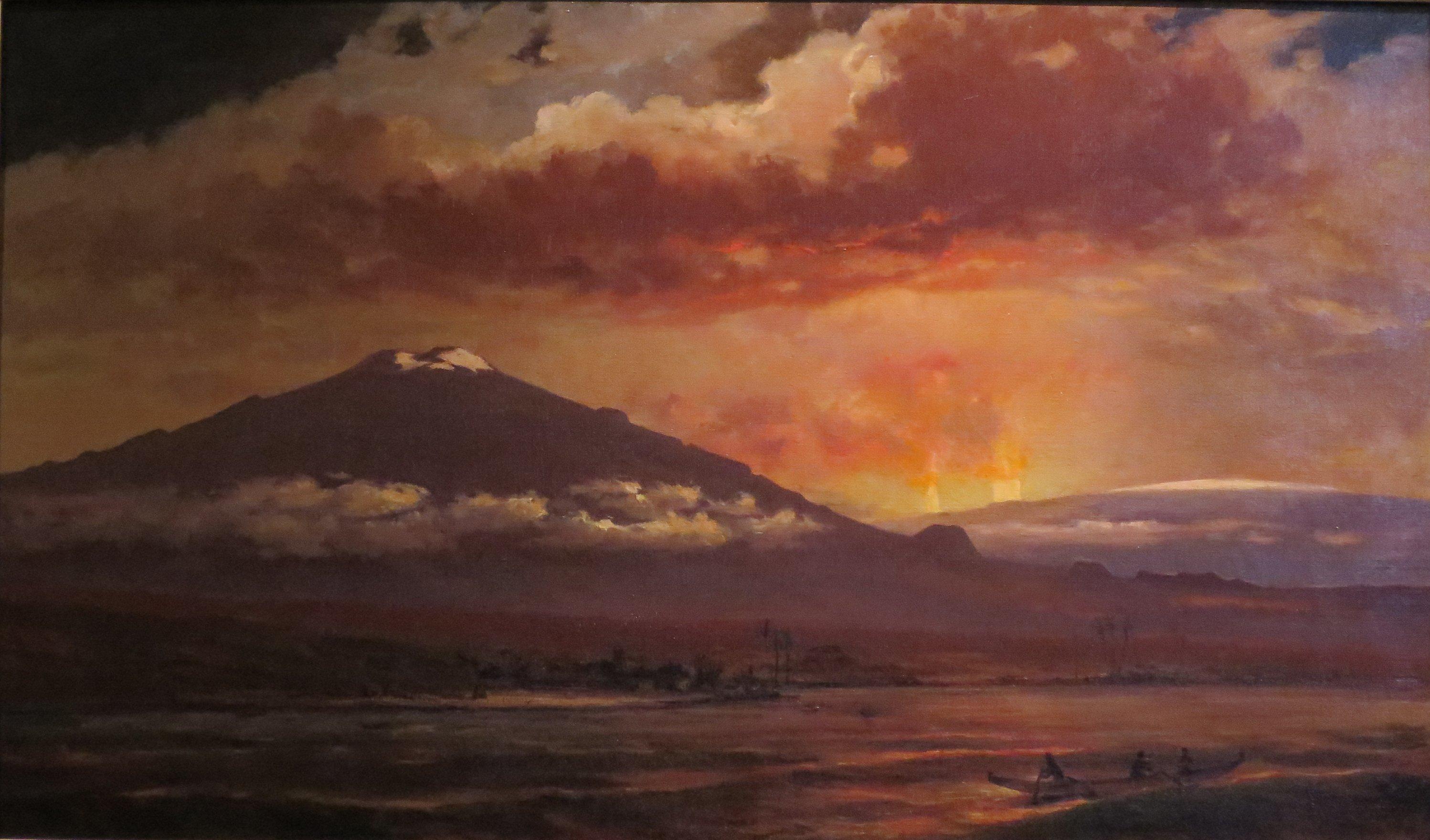 Volcano Eruption Hawaii Big Islandvolcano Eruption On Big Island Hawaii