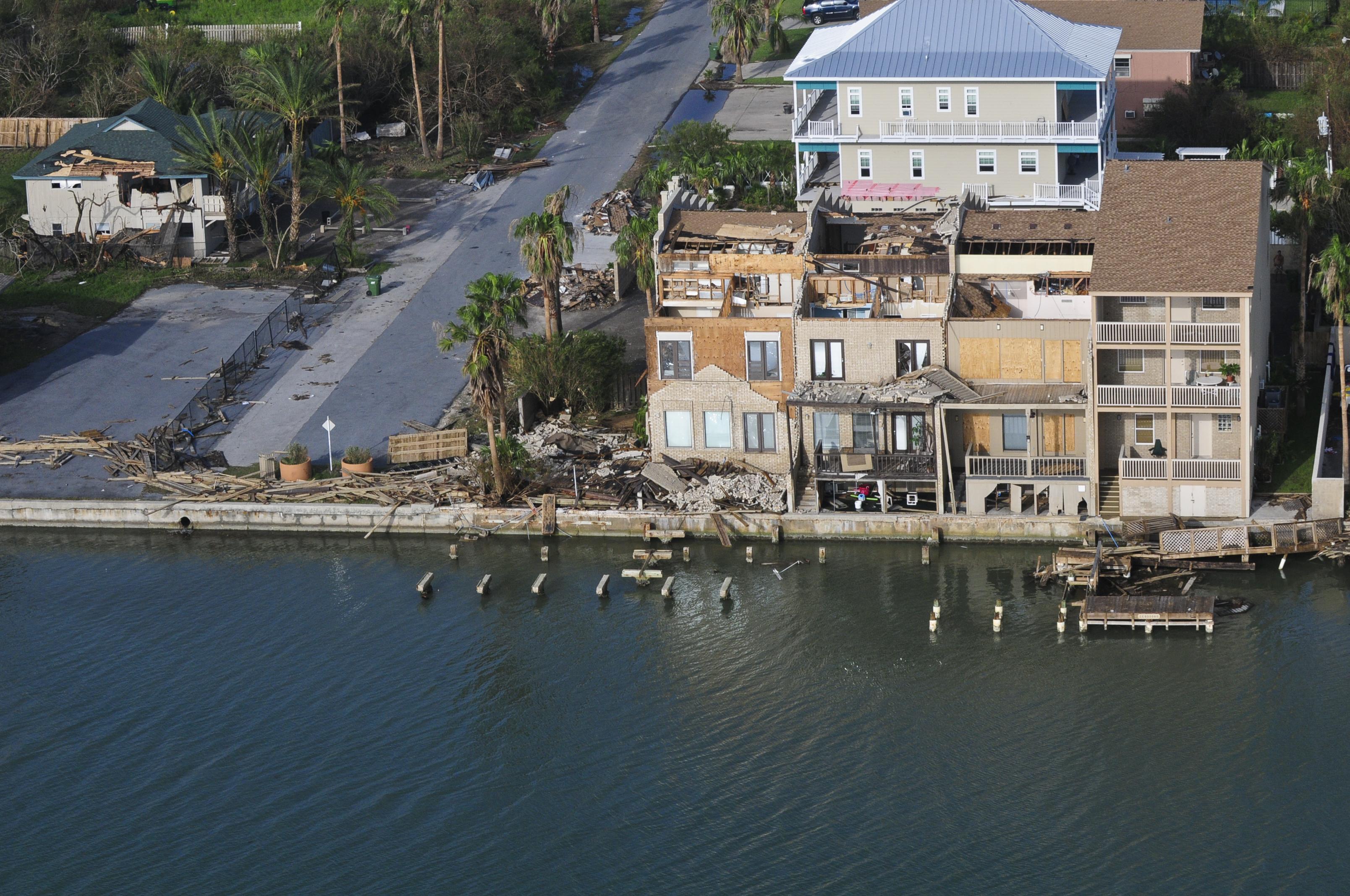 South Padre Island Hurricane Harvey Damage