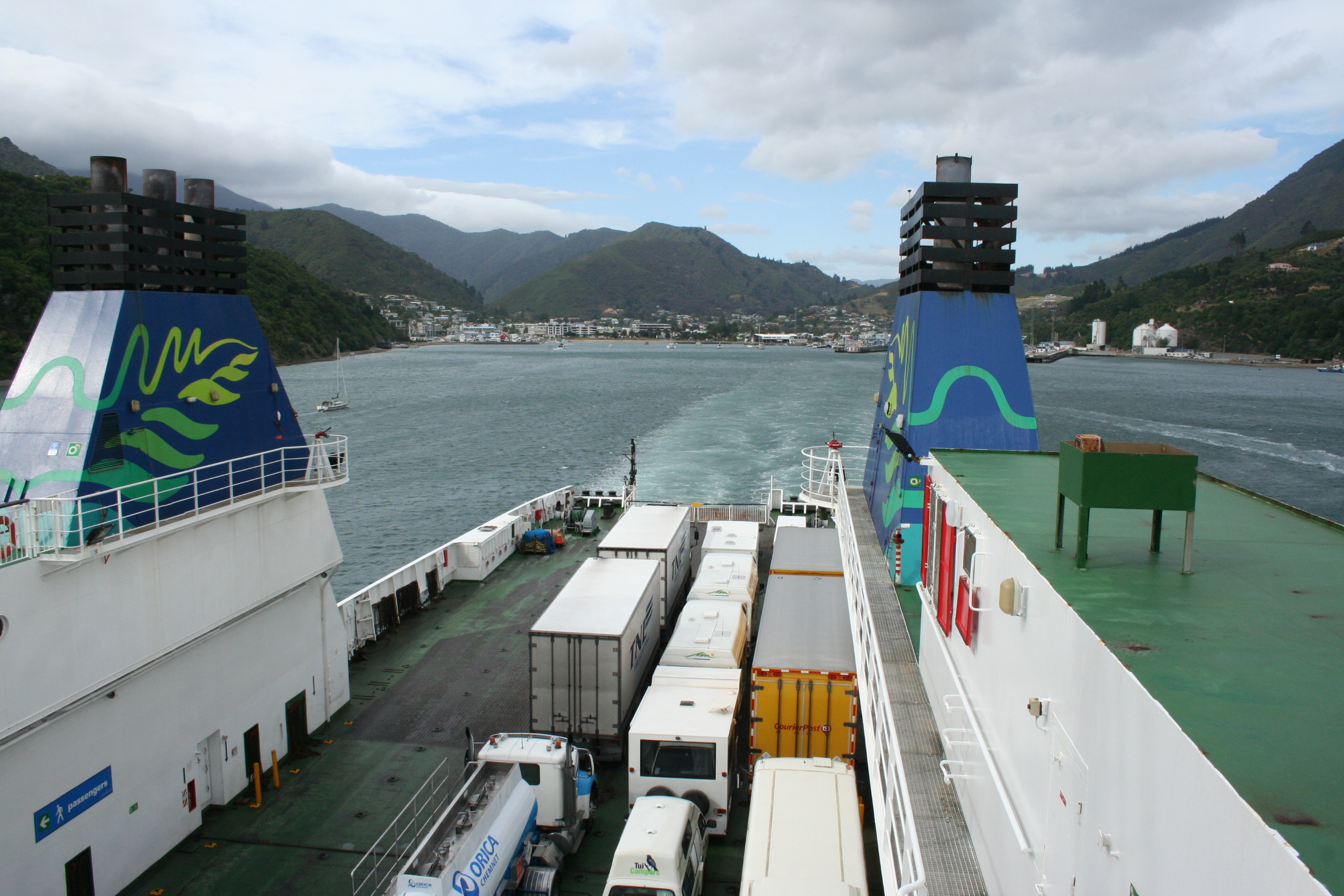 Ferry Car To New Zealand