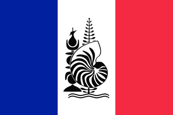Su'wret:Flag of New Caledonia with Emblem.jpg