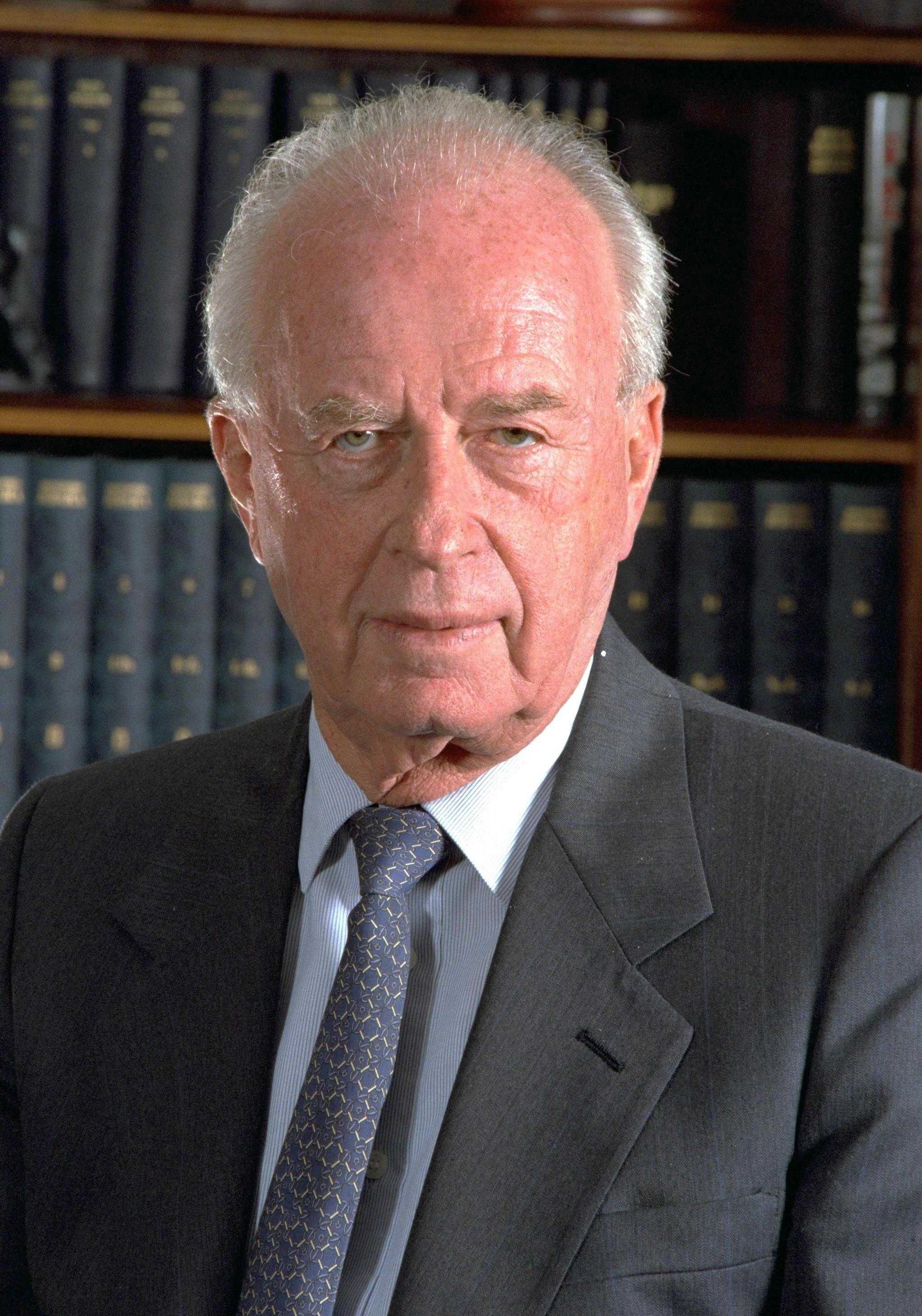 Photo of Yitzhak Rabin