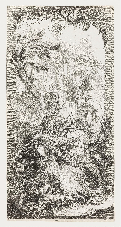 File Fran 231 Ois Boucher Rocaille Rococo Design In