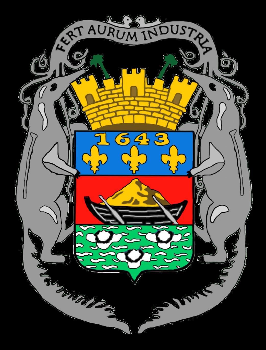 Escudo de Guayana Francesa - Wikipedia, la enciclopedia libre