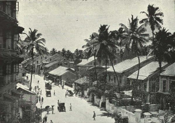 Girgaon back road, c. 1905
