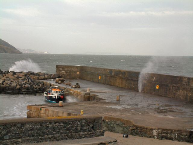 Greystones Harbour - geograph.org.uk - 85267