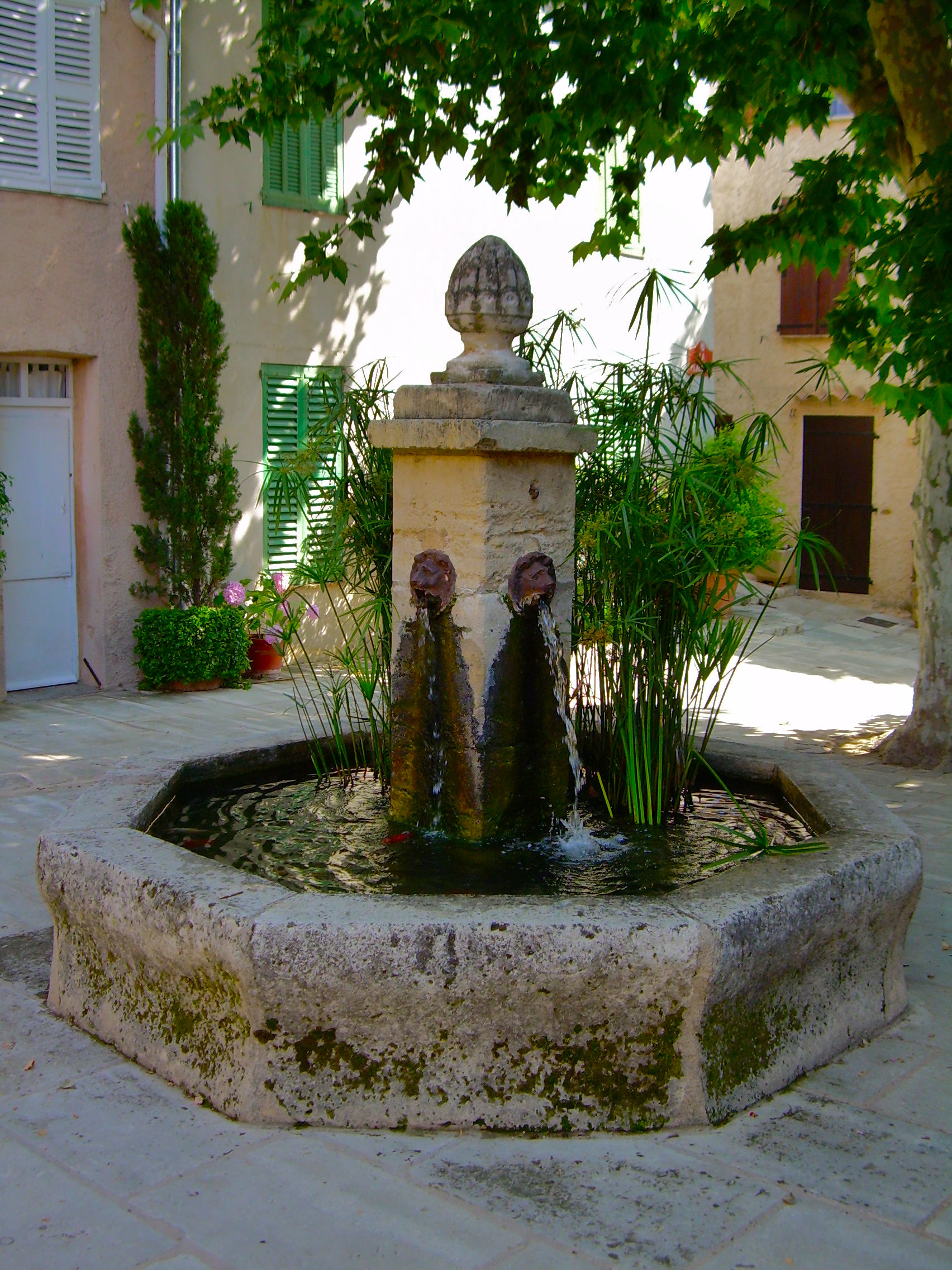 Image result for france village fountain