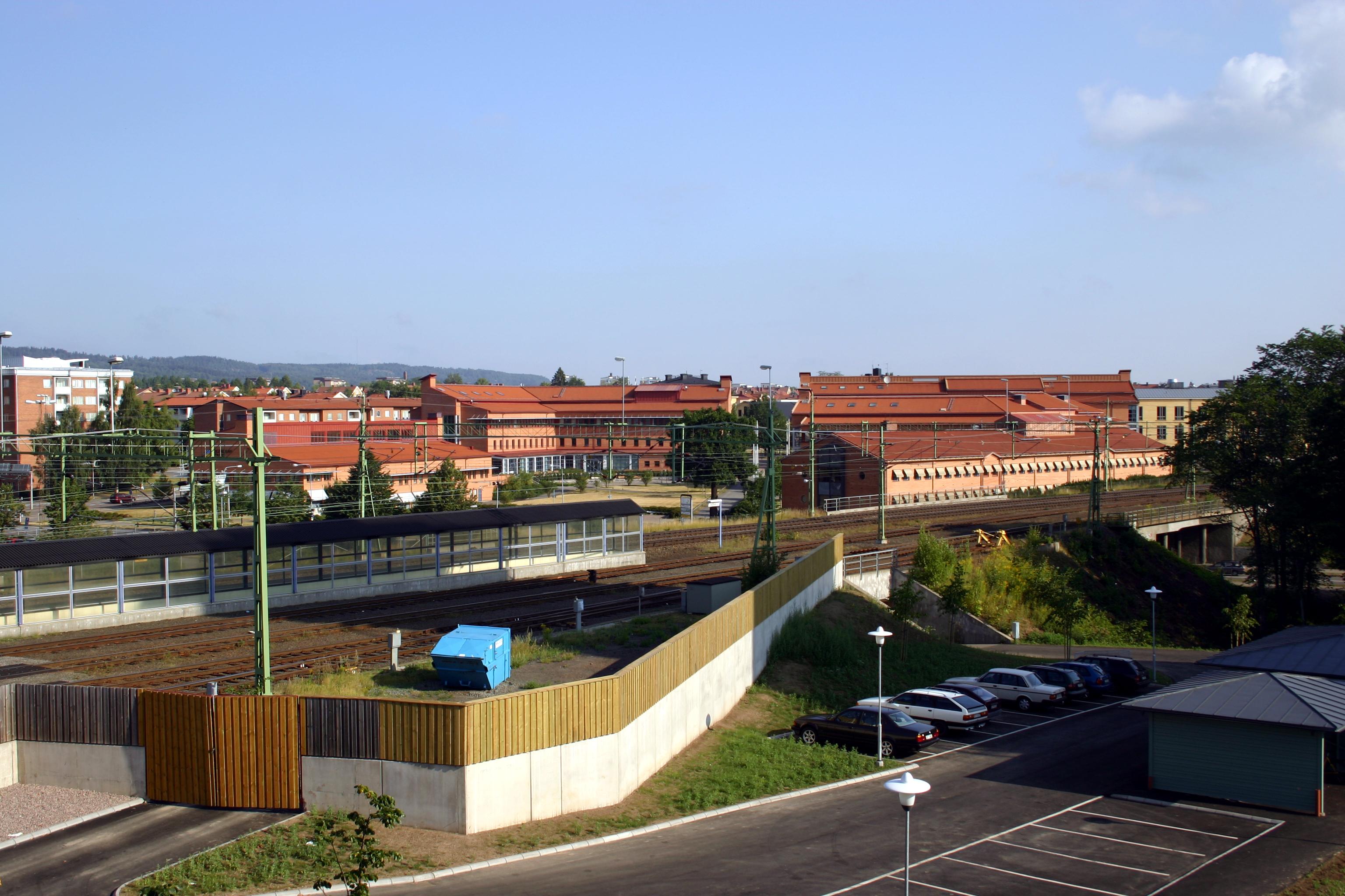 File Hogskolan I Skovde Jpg Wikimedia Commons
