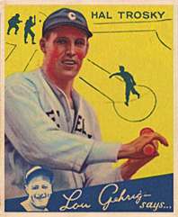 Hal Trosky Major League Baseball first baseman