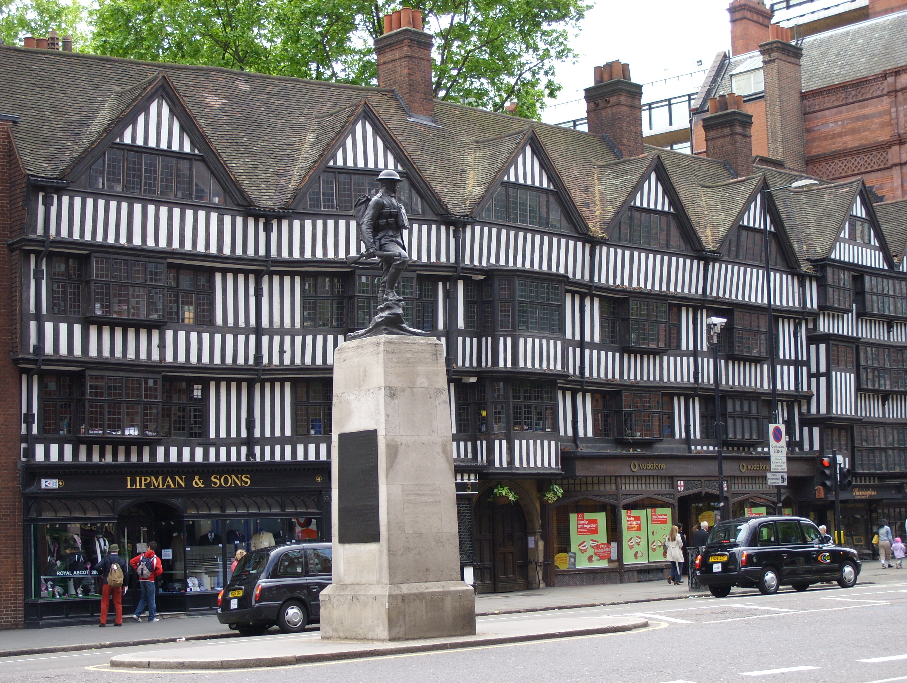 File:Half-timbered tudor buildings, High Holborn.JPG ...