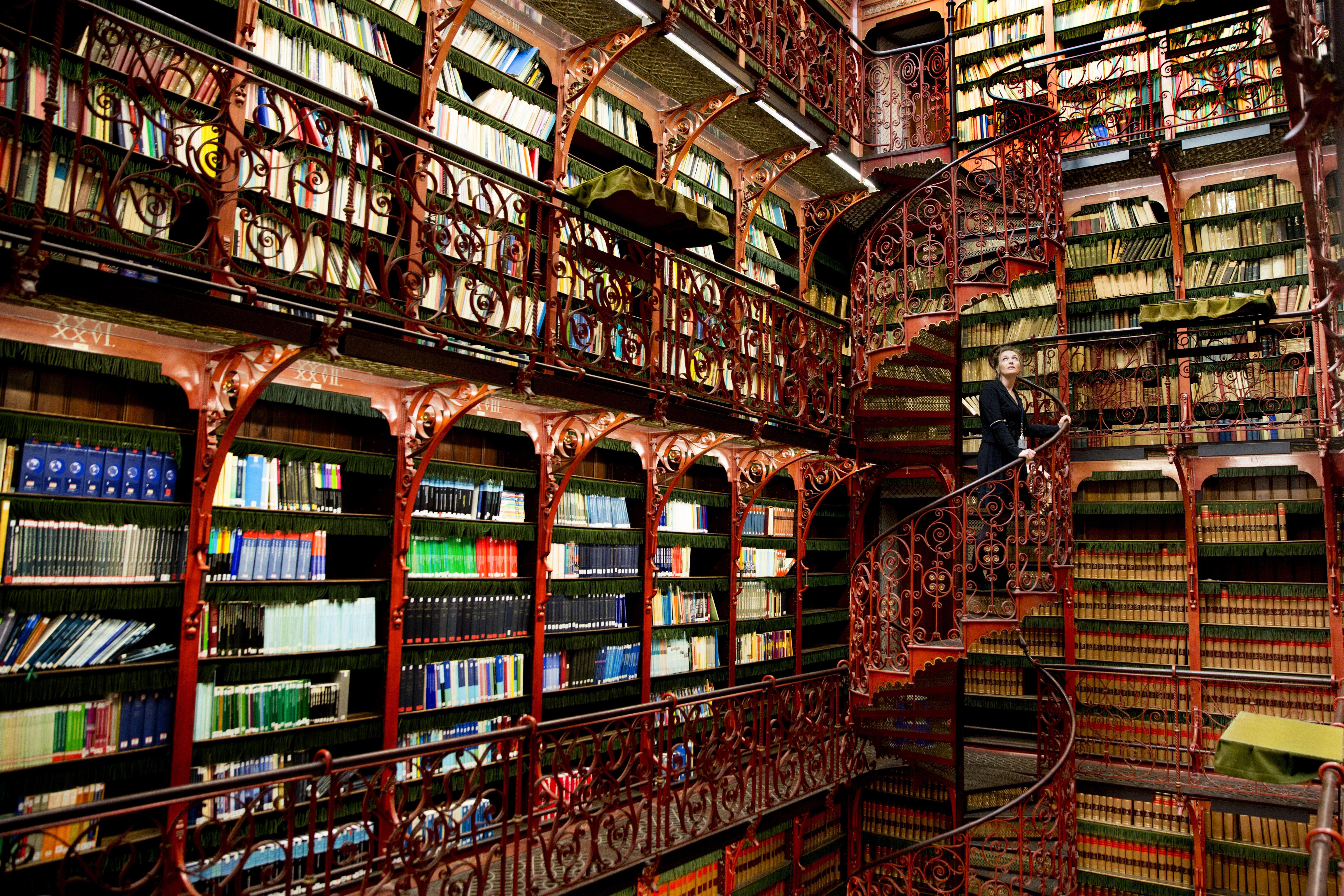 De Bibliotheek Kamer : File handelingenkamer bibliotheek binnenhof g wikimedia commons