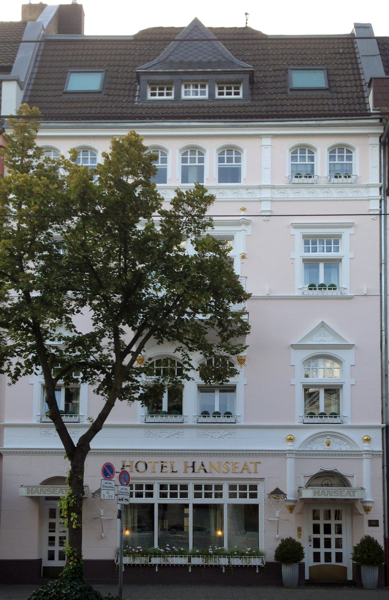 File Haus Belsenstraße 6 Düsseldorf Oberkassel