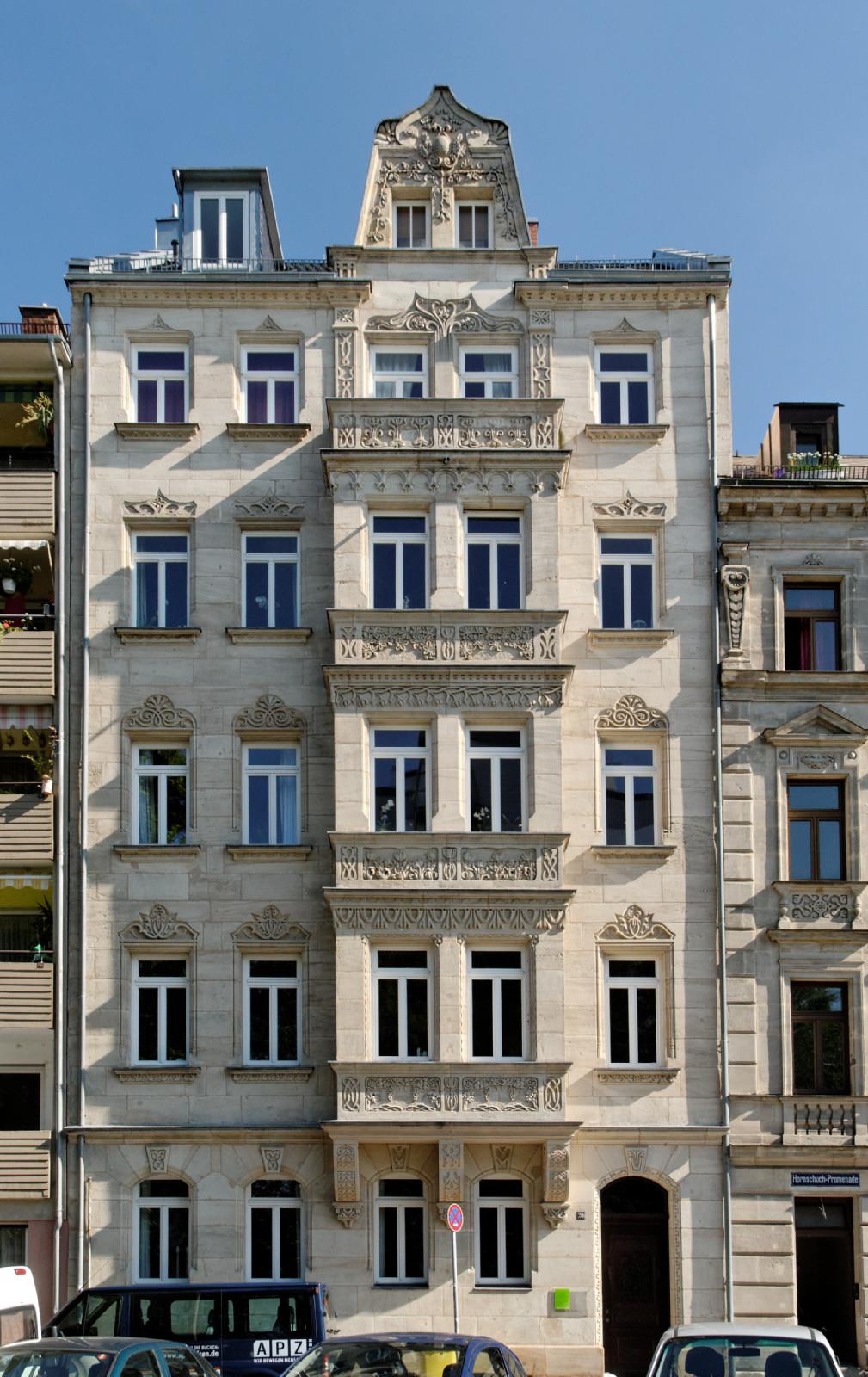 datei haus hornschuchpromenade 20 in fuerth von wikipedia. Black Bedroom Furniture Sets. Home Design Ideas