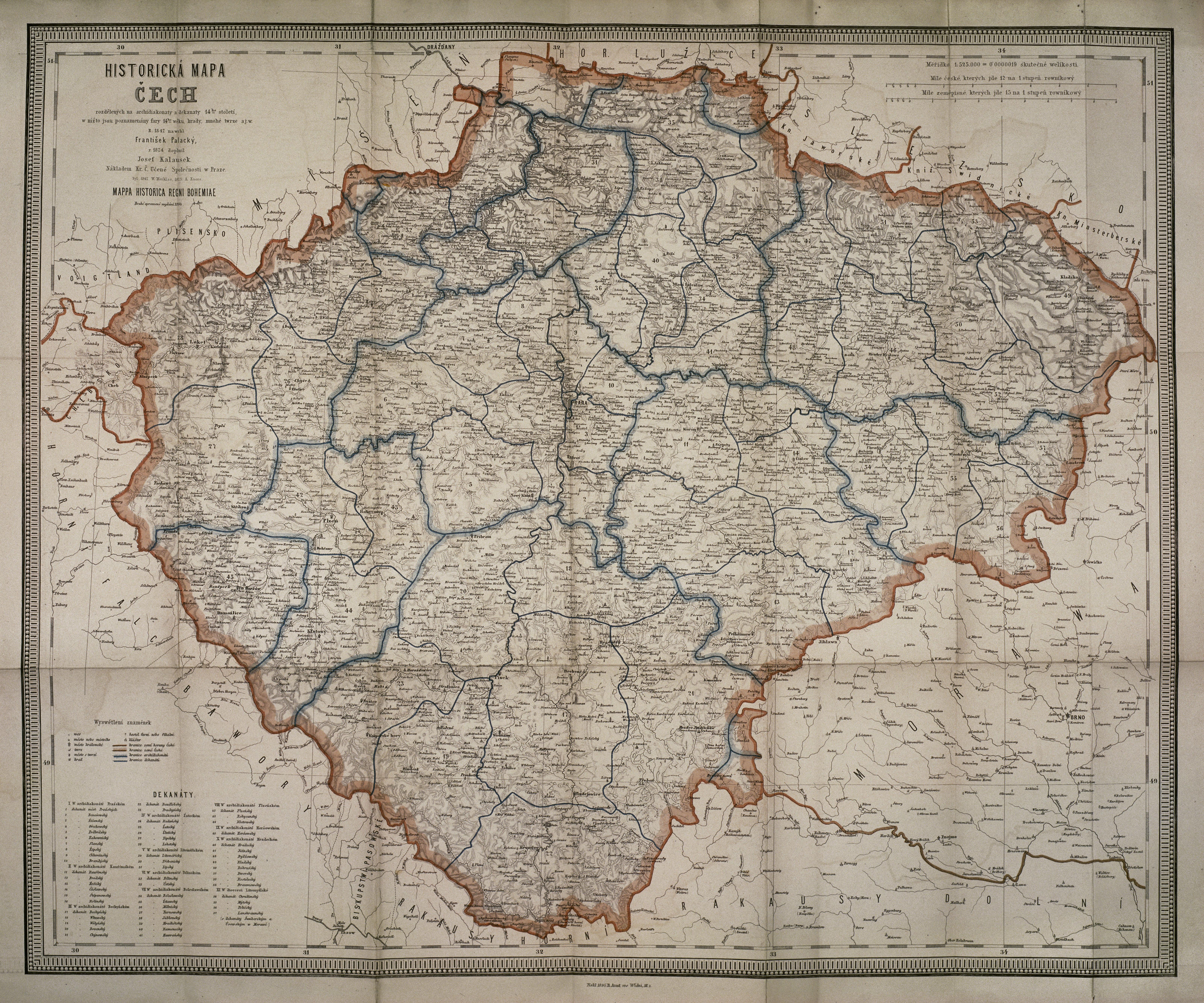 File Historicka Mapa Cech 14 Stol Jpg Wikimedia Commons