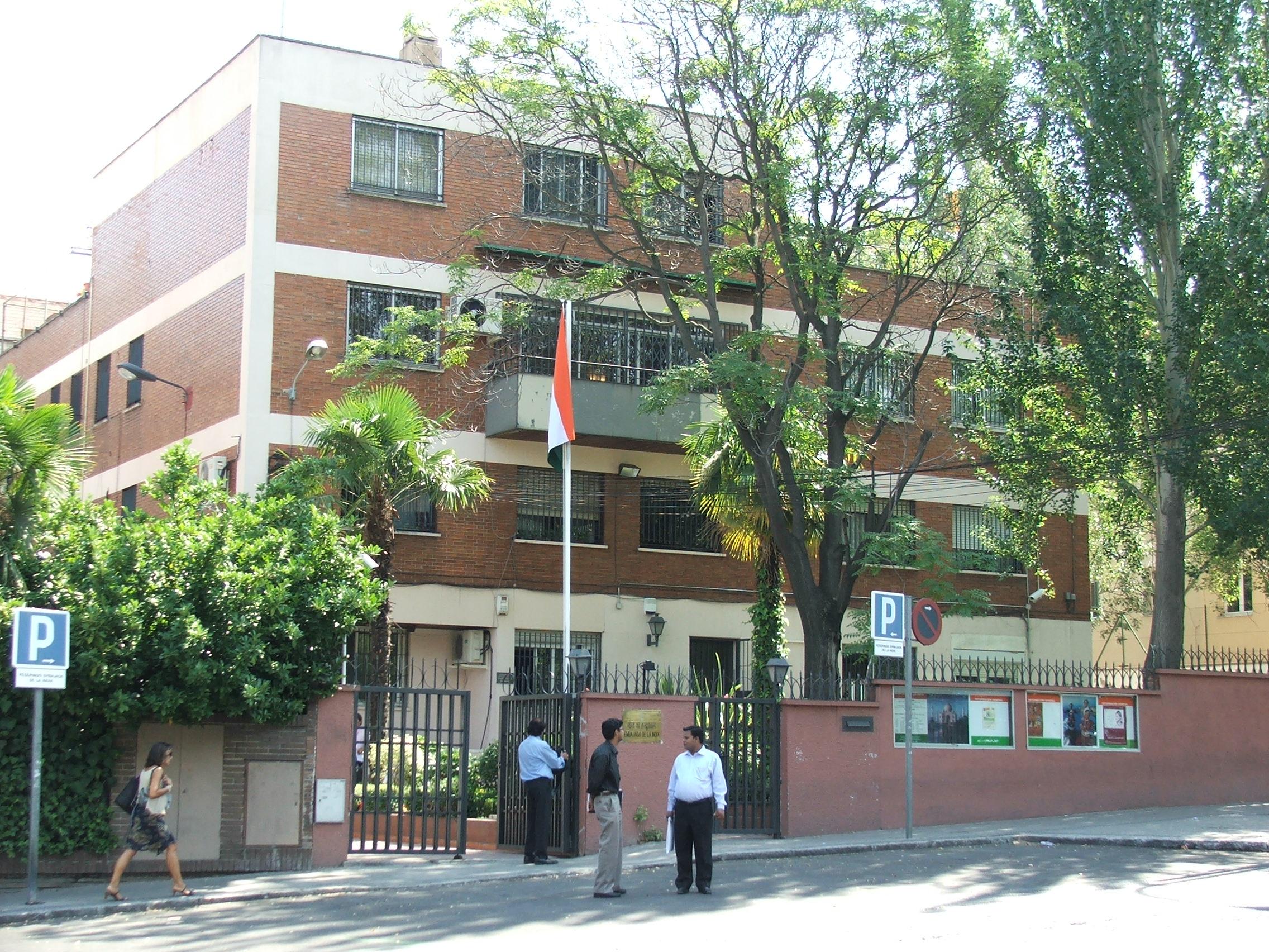 File Indian Embassy Madrid 4062 Jpg Wikimedia Commons
