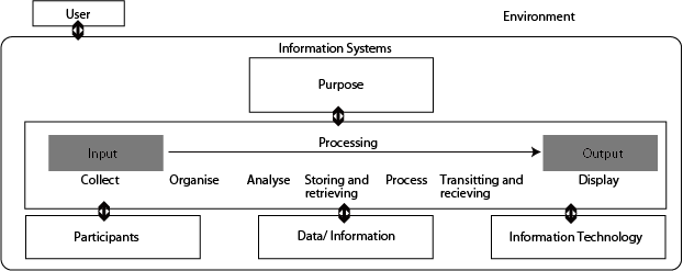 Information system diagram