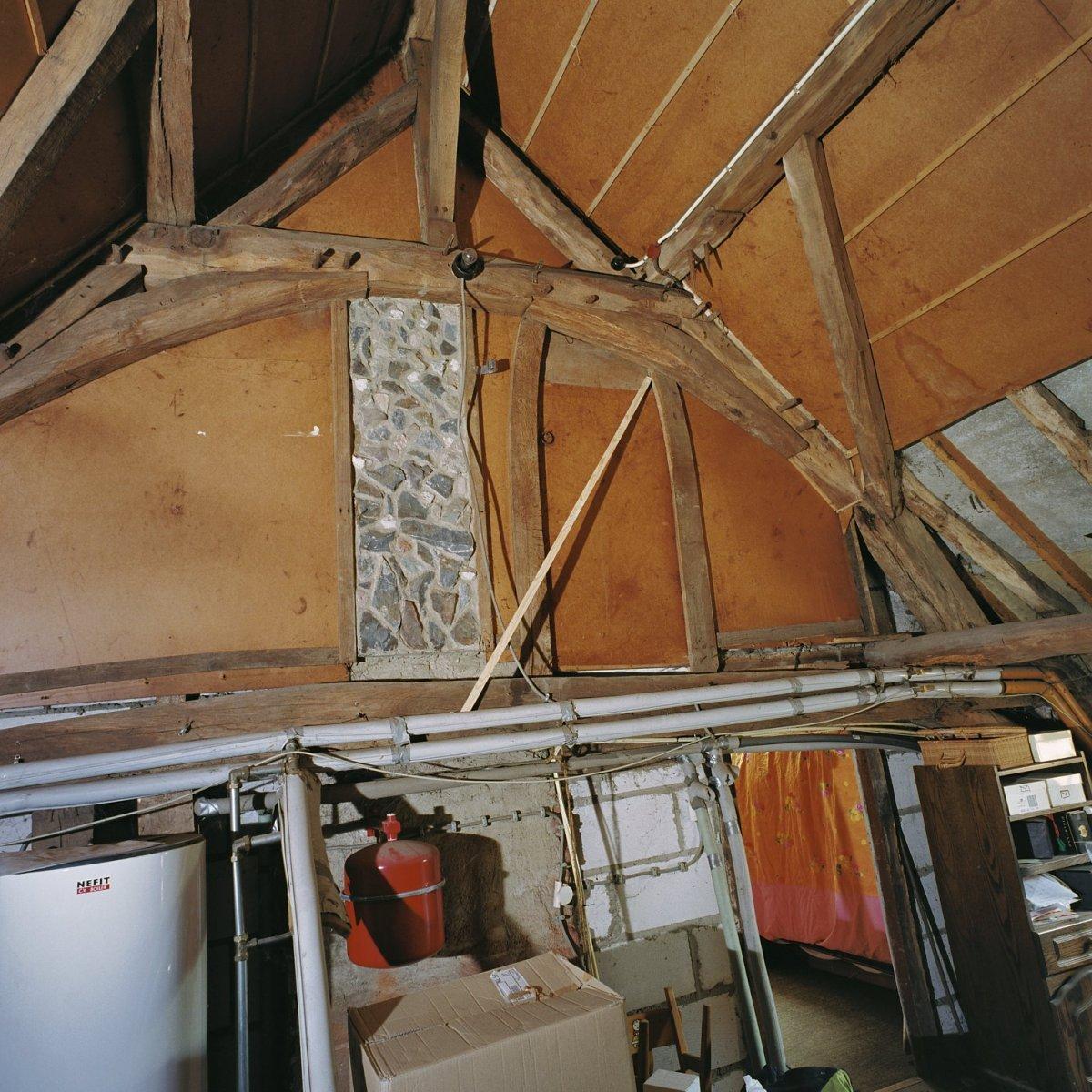 File interieur overzicht van spant boven het woonhuis for Meerlo interieur