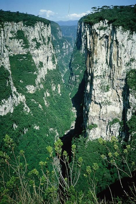 Canyon of Itaimbezinho.