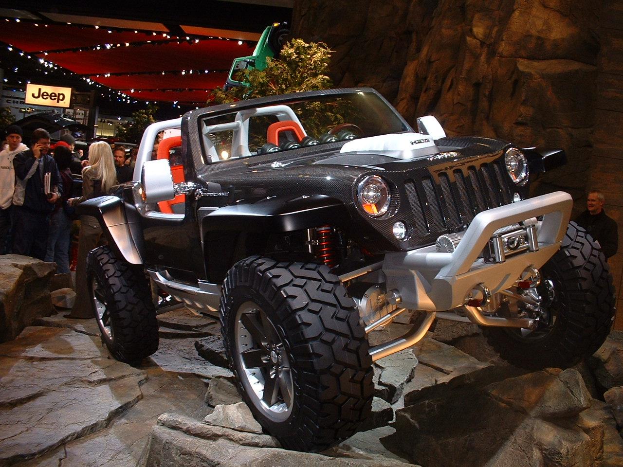 The Jeep Hurricane at the 2005 Jeep Hurricane Engine