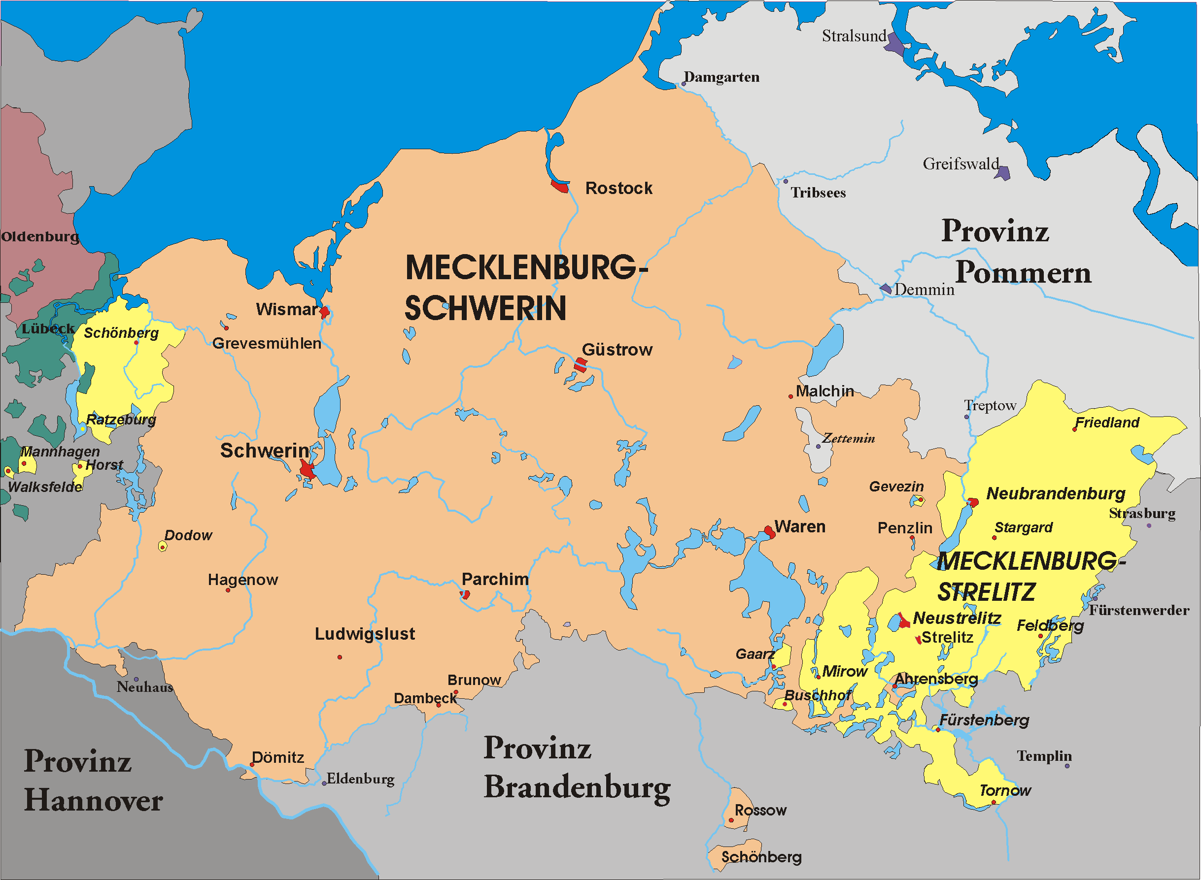 the basic history economy and culture of the german state of mecklenburf vorpommern