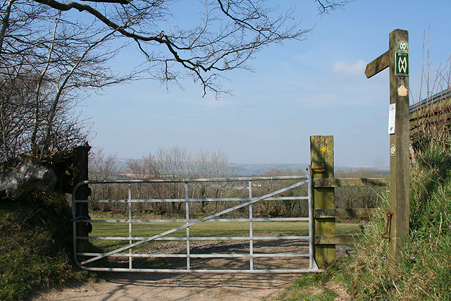 Knowstone, the Two Moors Way - geograph.org.uk - 393666