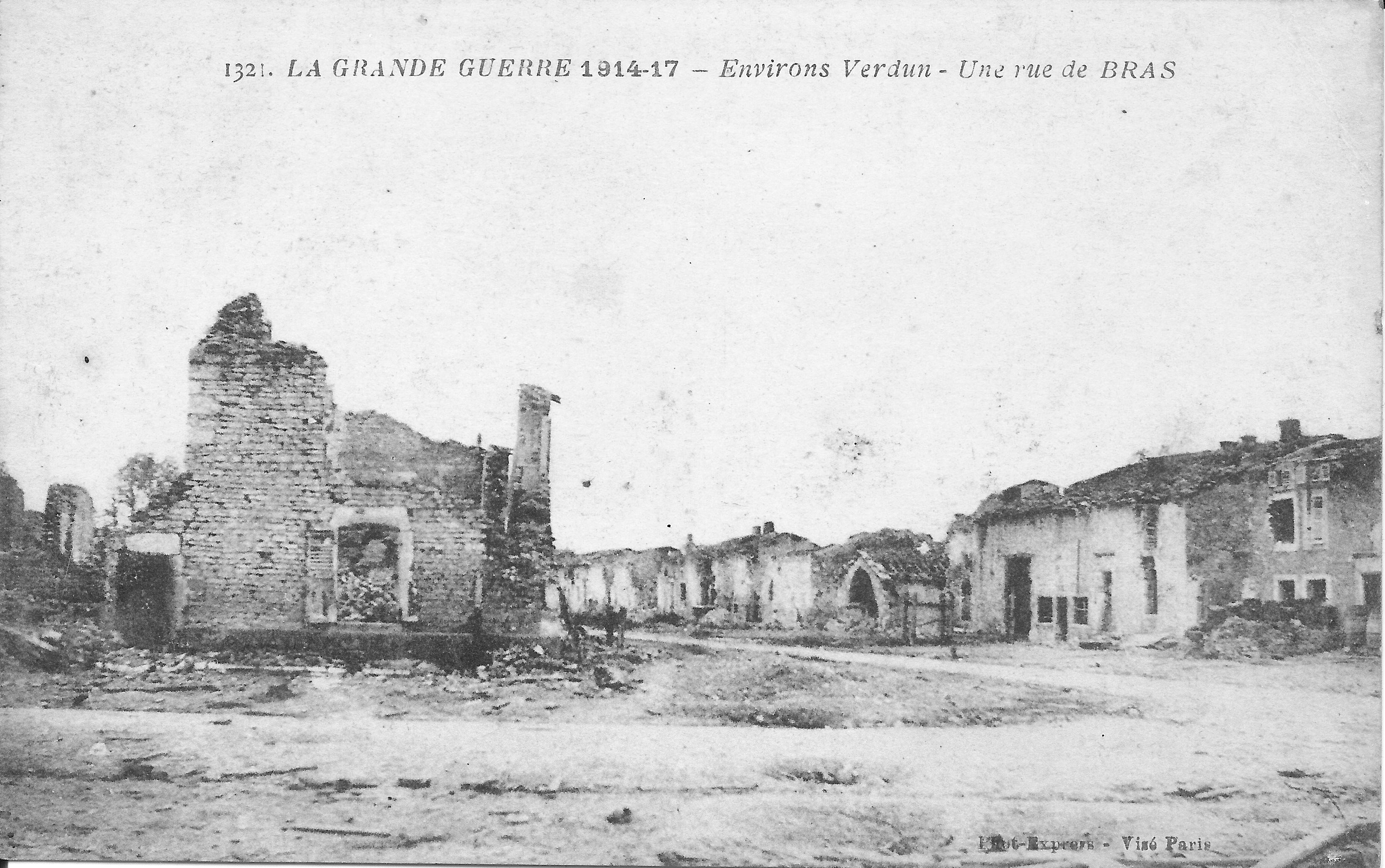 File:La grande guerre 1914-17-Environs Verdun-Une rue de Bras