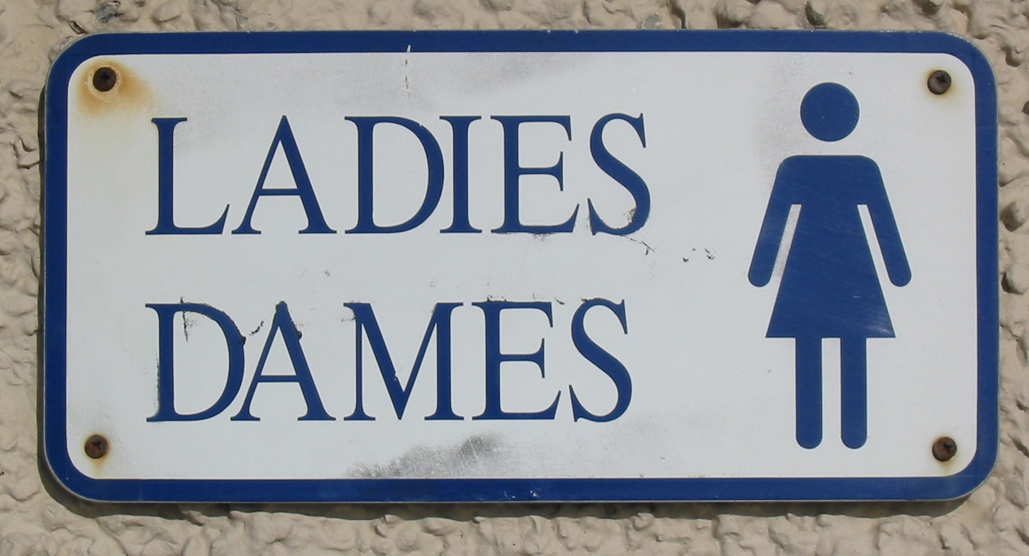 Bathroom Signs History file:ladies dames toilet sign jersey - wikimedia commons