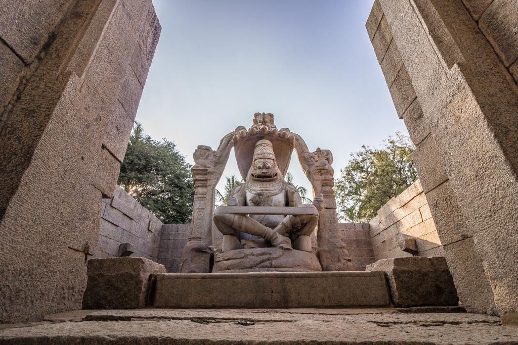Lakshmi Narasimha Temple, Hampi, India.