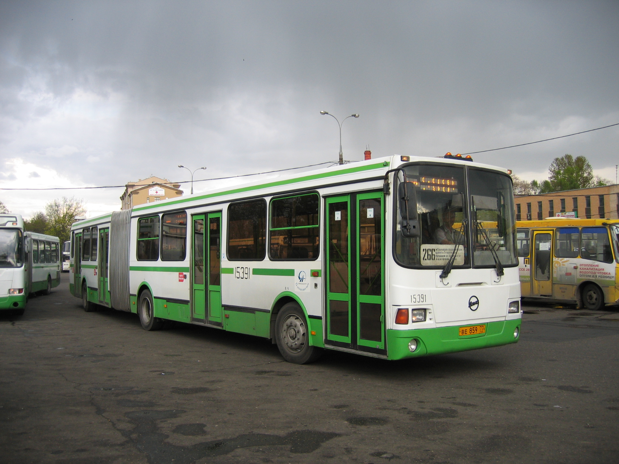 Bus LiAZ-6212: photos, specifications 54