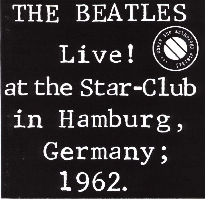 Live! at the Star-Club in Hamburg, Germany; 1962 artwork
