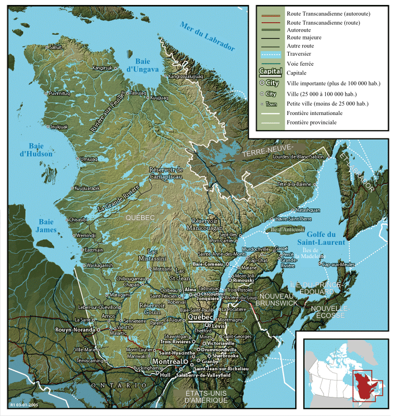 Quebec Karte.File Map Of Quebec Fr Png Wikimedia Commons