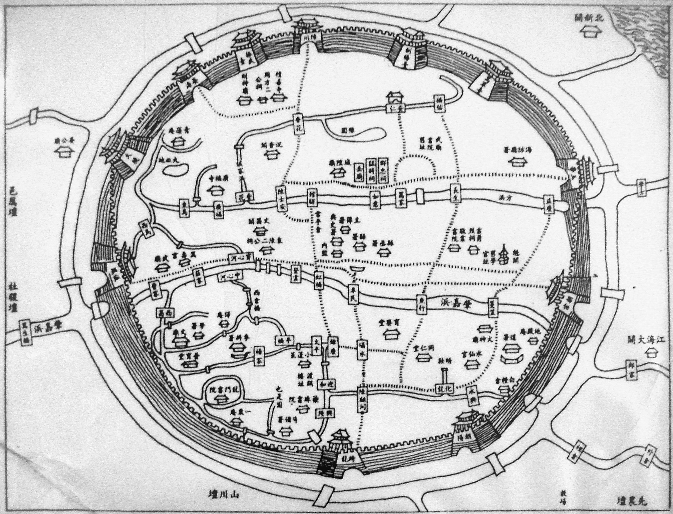 File:Map of the Old City of Shanghai.jpg - Wikimedia Commons