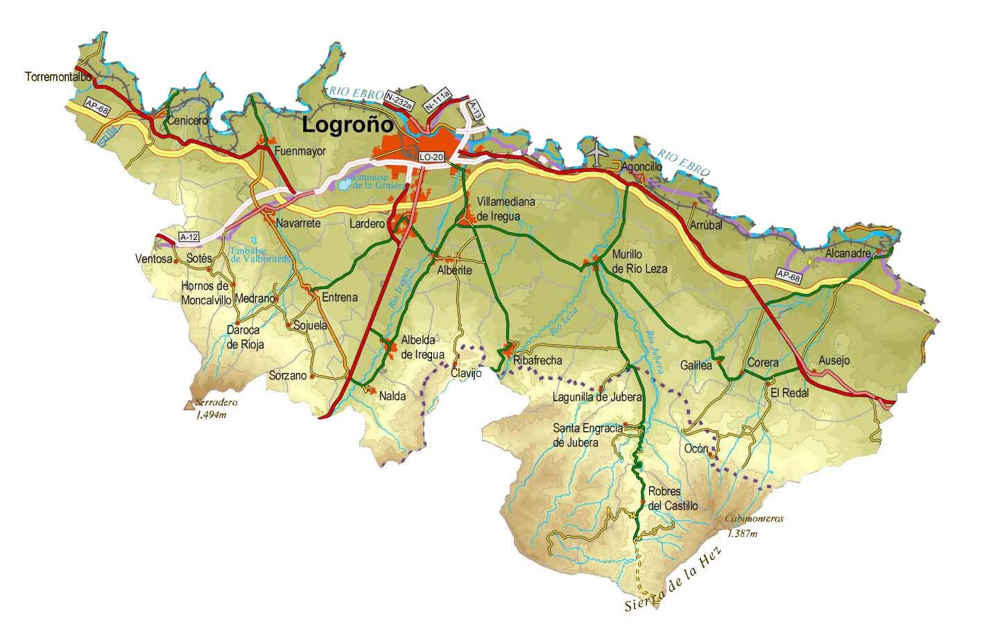 File Mapa Fisico Comarca Logrono Jpg Wikimedia Commons
