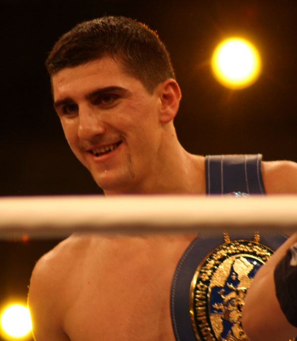 The 33-year old son of father (?) and mother(?) Marco Huck in 2018 photo. Marco Huck earned a  million dollar salary - leaving the net worth at 2.5 million in 2018