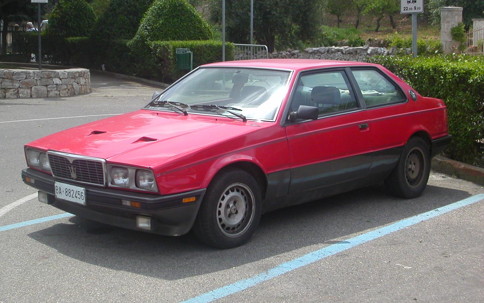 File Maserati Biturbo S Jpg Wikimedia Commons