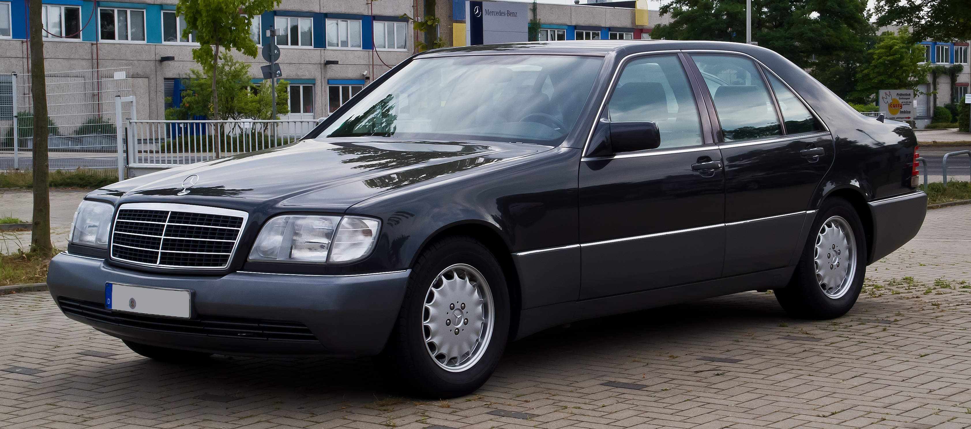 file mercedes benz s klasse w 140 facelift frontansicht 10 august 2013. Black Bedroom Furniture Sets. Home Design Ideas