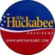 Mike huckabee for president button.png