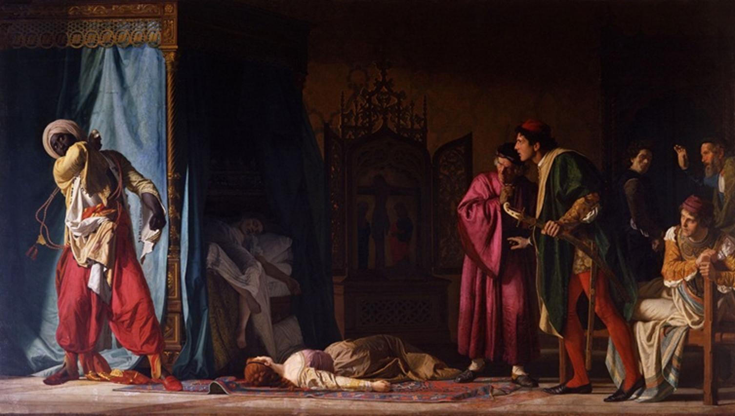 Pompeo Marino Molmenti - La morte di Otello