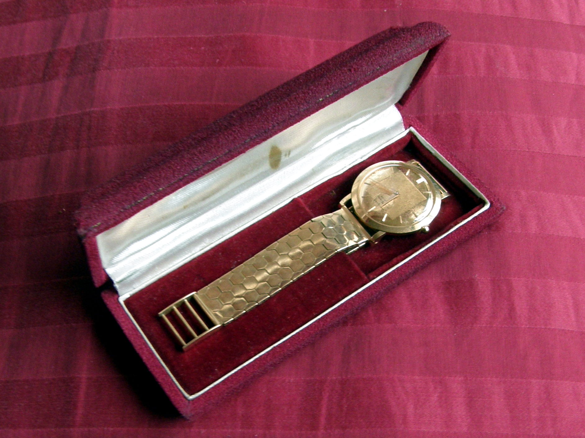 Movado Watch, Gold, Collectible, Classic, Vintage Watch