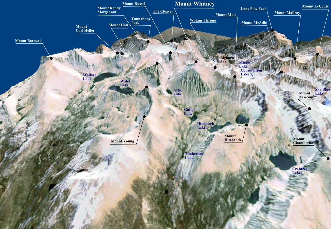 Where Is Mount Whitney On The California Map.Whitney Classic Wikipedia