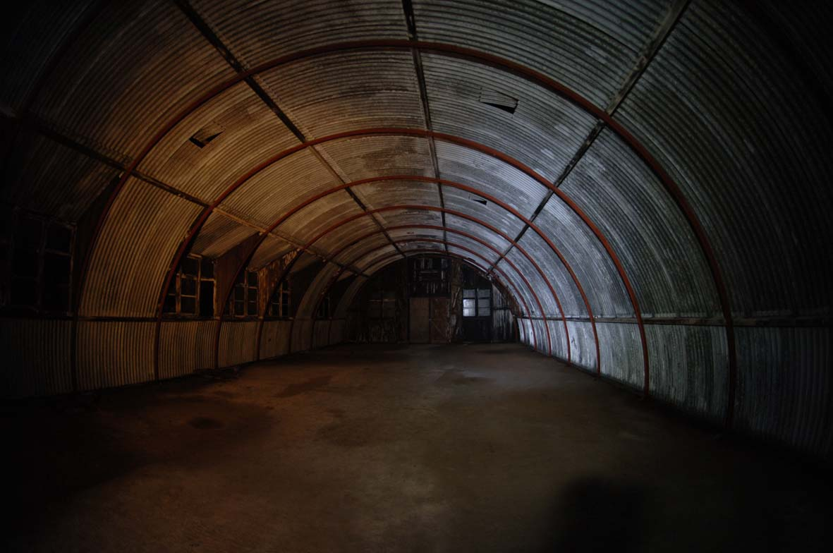 File:Nissen Hut In World War II Tunnels Inside The Rock Of Gibraltar